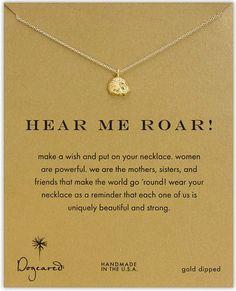 Dogeared lion necklace. So. Cute. #phimu