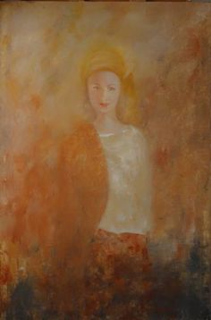 "Saatchi Art Artist Eva Hoffmann; Painting, ""Inspiration Merit"" #art"