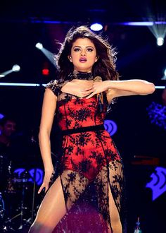 December 13:  Selena performing at the Z100's Jingle Ball 2013 in New York.