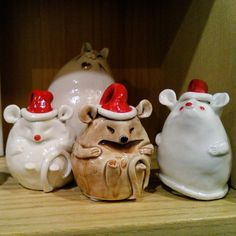 Christmas Mice Mice, December, Jar, Christmas Ornaments, Holiday Decor, Products, Home Decor, Computer Mouse, Room Decor