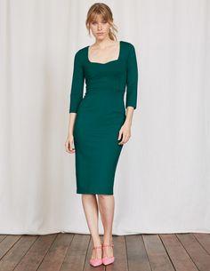 Rebecca Ponte Dress WW206 Smart Day Dresses at Boden