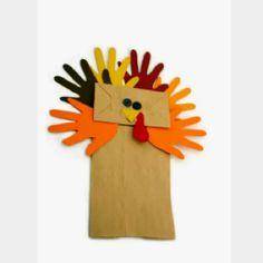 Turkey craft for Thanksgiving