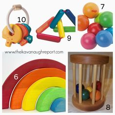 Purging traditional baby toys can be a great way to start Montessori. Here are some Montessori friendly options to consider instead of traditional baby toys.