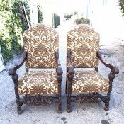 Spanish colonial chairs