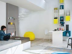 Bedroom set for boys/girls GRAPHIC Nidi Collection by Battistella | design Edoardo Gherardi