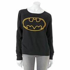 Batman Logo Sweatshirt - Juniors