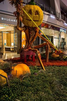 Cool Pumpkin Patch at the Aria Hotel in Las Vegas by Oscar Jimenez on 500px