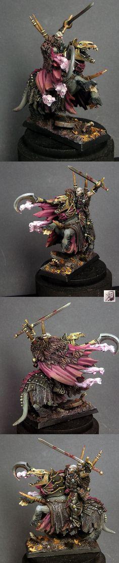 Manfred von Carstein mounted Vampire