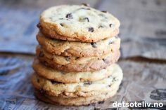 The Best Chocolate Chip Cookies | Det søte liv