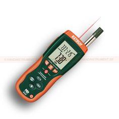 http://termometer.dk/luftfugtmaler-r13208/psychrometer-med-ir-termometer-til-luftfugtighed-malinger-53-HD500-r13230  Psychrometer med IR termometer til luftfugtighed målinger  Indbygget IR termometer for berøringsfri temperaturmåling op til 500 ° C  Infrarødt: 30:1 forholdet afstand til måling spot  Type K Termometer til kontakt temperaturmåling op til 1372 ° C)  Stort LCD baggrundsbelyst display  2% RH nøjagtighed  Min / Max, data hold og auto-sluk-funktion  Indbygget USB-port...