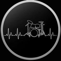 Drums Art, Guitar Art, Partition Batterie, Drum Drawing, Drum Tattoo, Gretsch Drums, Drum Music, Vintage Drums, Music Logo