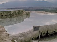 This calcium carbonate rock was just an awesome site! Pamukkale, Calcium Carbonate, Roman, Greek, Awesome, Greece