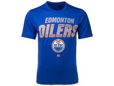 Edmonton Oilers NHL Men's Charging Synthetic T-Shirt