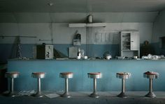 abandoned diners | An abandoned 1950s diner. Photograph: Wave/Corbis