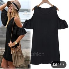 Butterfly sleeve t-shirt dress Best for size 8/10 women sizing. Price firm unless bundled. Dresses Mini