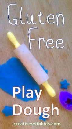 Gluten Free Play Dough Recipe and Tips.  With the way my g-free kid randomly tastes things, this is a great recipe find.