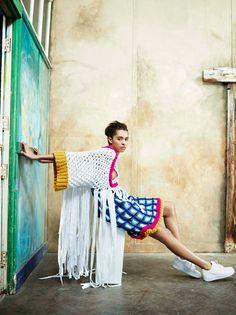Graduate Fashion Week sneak preview shoot. Design by Chloe Woodgate, Colchester School of Art GFW 2014