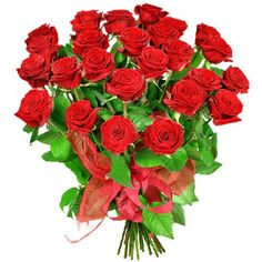 Bukiet kwiatów zamówiony przez internet