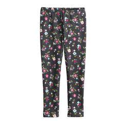 a39fed7f0 Girls 4-10 Jumping Beans® Print Full-Length Fleece Leggings, Dark Grey