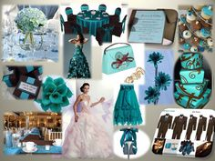 teal wedding theme ideas - Wedding Decor Ideas