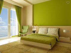 Green sleeping room