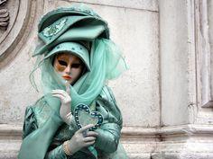 Disfraz máscara veneciana