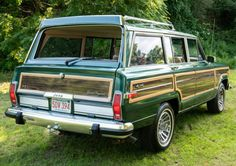 1991 Jeep Grand Wagoneer Final Edition for sale on BaT Auctions - ending July 9 (Lot Vintage Jeep, Vintage Trucks, Jeep Wagoneer, Old Jeep, Ford Fairlane, Jeep Grand, Classic Cars Online, Station Wagon, Land Rover Defender