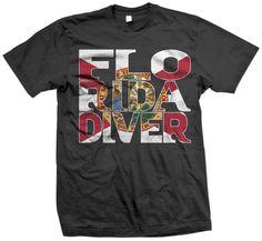 Florida Diver Scuba Diving T-Shirt