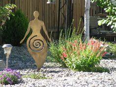 Modern goddess garden.