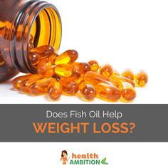 Does Fish Oil Help Weight Loss?