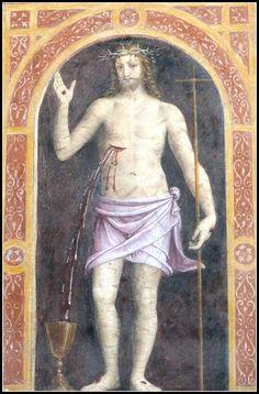 Gesù cristo di Bernardino Luini San Maurizio al Monastero Maggiore Milano