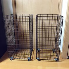 Daily Hacks, Useful Life Hacks, Crate Storage, Storage Hacks, Laundry Shoot, Recycling Storage, Pop Up Dinner, Metal Rack, Country Living Magazine