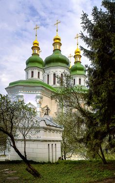 Vydubichi Monastery, Kiev, Ukraine