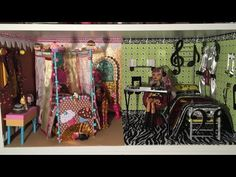 HOW TO MAKE A DORM ROOM FOR FAYBELLE THORN & BUNNY BLANC [EVER AFTER HIGH] - YouTube
