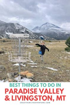Paradise Valley and Livingston Montana Things To Do. Check out these vacation ideas from history to fun indoor and outdoor activities. They also have a really cool downtown area with an awesome art scene and some great restaurants to enjoy local food and relax after a day of outdoor adventure.  This is a fun stop on a road trip or family vacation to Yellowstone National Park. If you're wondering what do do in Livingston Montana, look no further than this travel guide. #Livingston #Montana