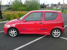 FIAT SEICENTO red