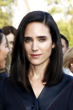 How To Totally Rock Being A Brunette #refinery29  http://www.refinery29.com/brown-hair-shades#slide-10  Dark and CoolJennifer Connelly is living proof that dark, bold brows look best with a mane to match.