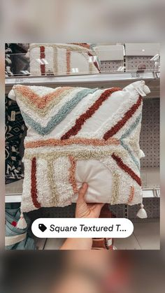 Home Interior Design, Target, Throw Pillows, Texture, Blanket, Crochet, Surface Finish, Toss Pillows, Cushions