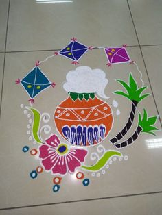 Rangoli Designs Peacock, Rangoli Designs Latest, Simple Rangoli Designs Images, Rangoli Border Designs, Rangoli Patterns, Rangoli Ideas, Rangoli Designs With Dots, Rangoli Designs Diwali, Rangoli With Dots
