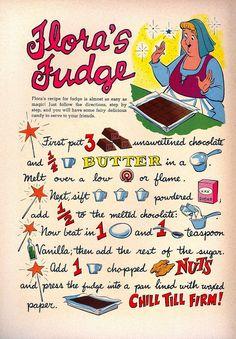 Flora's Fudge (1959)