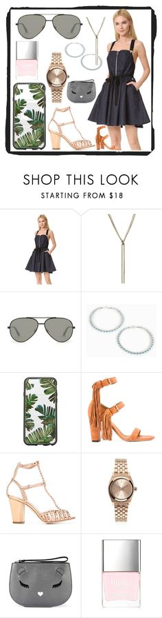 """BE creative"" by justinallison ❤ liked on Polyvore featuring Adam Selman, Nina Ricci, Yves Saint Laurent, Sonix, Giuseppe Zanotti, Nixon, Furla and Butter London"