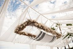 23 Wedding Chuppah Ideas We Love | Photo by: Laurie Bailey Photography | TheKnot.com