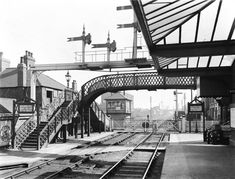 Long Eaton station, 1911 - Photos - Our collection Old Train Station, Big Town, Steam Railway, British Rail, Train Journey, Steamers, Local History, Train Tracks, Interesting Stuff