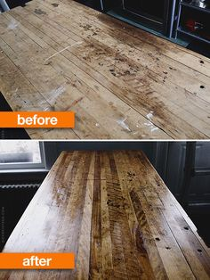 Before & After Roundup: Refinished Wood Furniture Projects