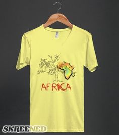 Sunburst Africa - The Village of Hope Uganda. - Skreened T-shirts, Organic Shirts, Hoodies, Kids Tees, Baby One-Pieces and Tote Bags