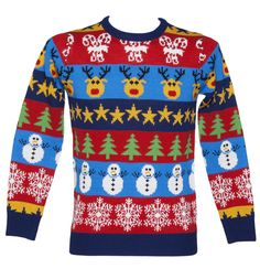 Unisex Retro Christmas Jumper from Cheesy Christmas Jumpers. Gotta have a fun christmas jumper Cheesy Christmas Jumpers, Festive Jumpers, Christmas Jumper Day, Xmas Jumpers, Christmas Bird, Christmas Knitting, Retro Christmas, All Things Christmas, Christmas Sweaters