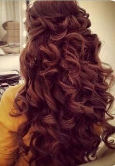 Huge curls