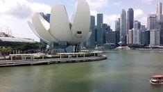Singapore City, Marina Bay Sands, Museum, Boat, Travel, Dinghy, Viajes, Boats, Destinations