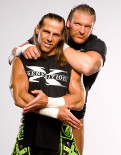 Shawn Michaels & HHH ~ DX   Love these two men to death :D