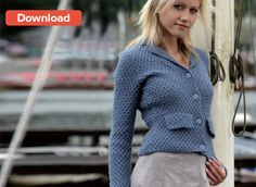 Free Pattern Fitted Jacket by Wendy